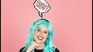 Easy Last-Minute Halloween Costume: Pop Art   Comic Book Makeup