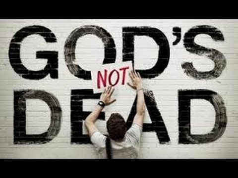 My God's not dead, He's surely alive, He is living on the inside, Roaring like a Lion