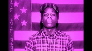 ASAP Rocky -  Wassup (Chopped & Screwed)