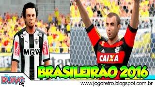 Pro Evolution Soccer 2016 (PES Top Games 5.0) com Brasileirão 2016 no Playstation 2