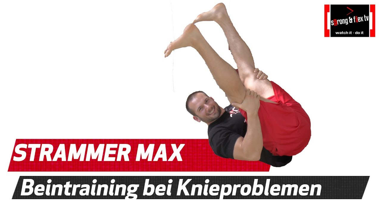 Knieschmerzen Beste Übung bei akuten Knieproblemen
