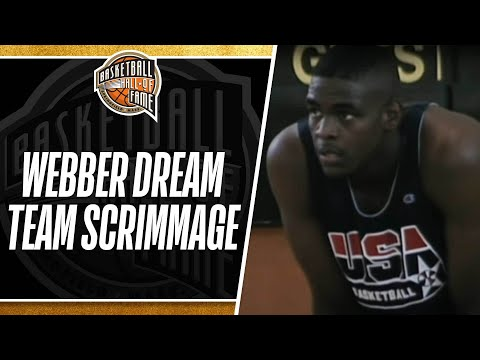 the-dream-team-scrimmages-against-chris-webber-and-the-1992-select-team