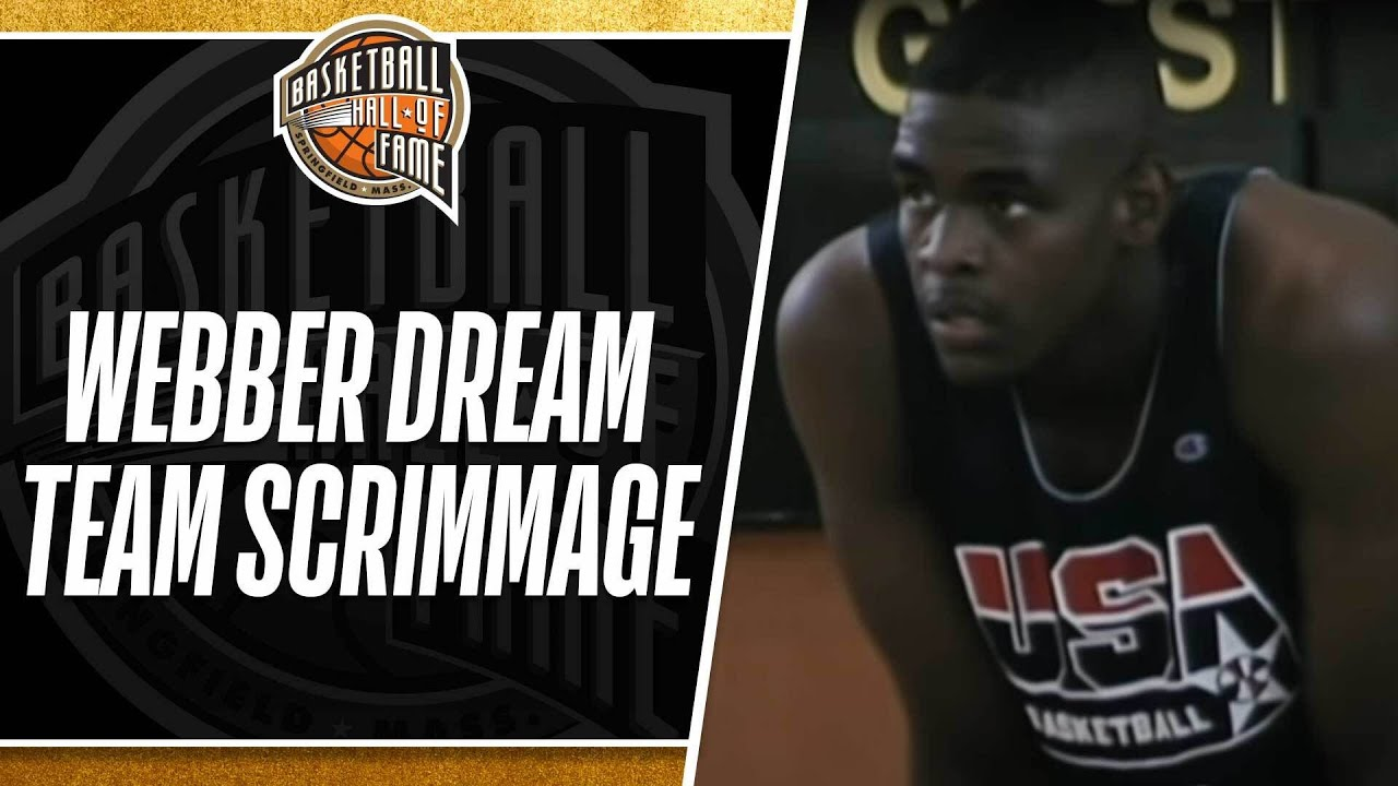 2b6c69e4a4d3 The Dream Team Scrimmages Against Chris Webber and the 1992 Select Team