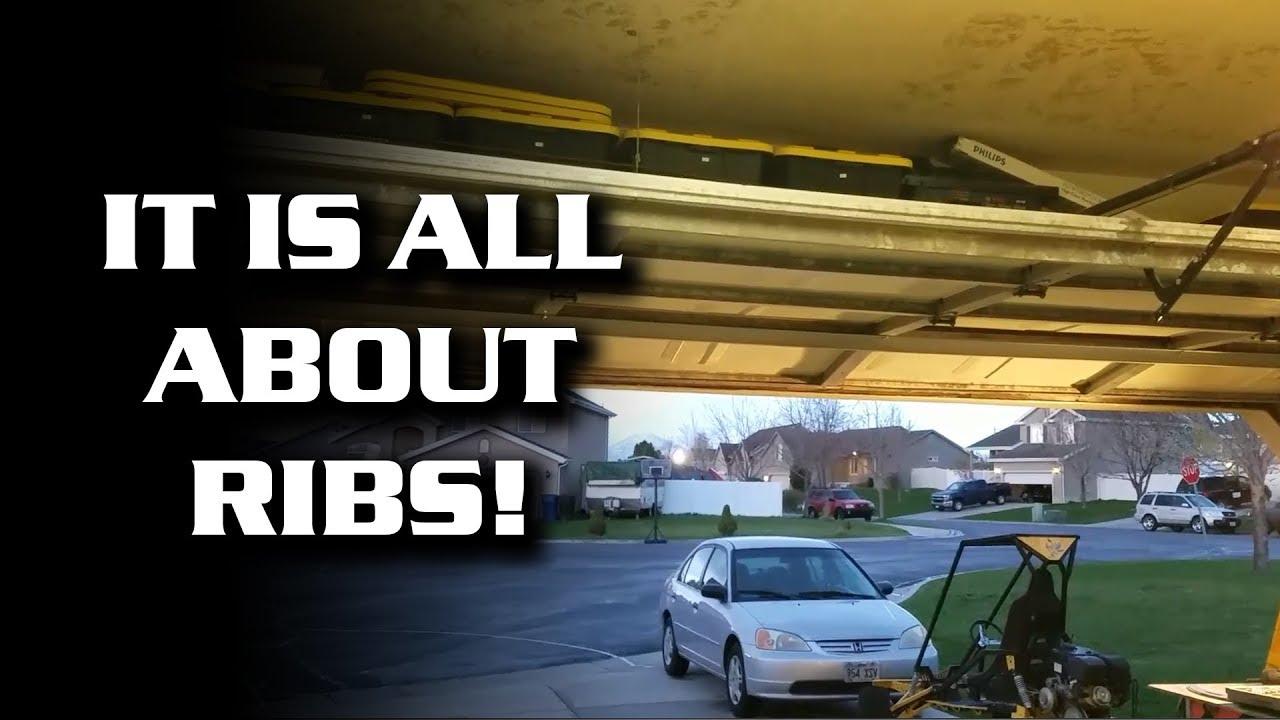 Sagging garage door update and fix 2 youtube for How to fix a sagging exterior door