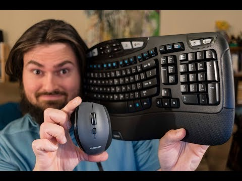 Logitech Comfort Wireless Combo Wave Keyboard And Mouse