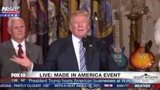 STUPID TRADE: President Trump Says No Such Thing As Fair Trade (FNN)