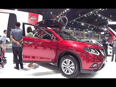 All new 2016, 2017 Nissan X-Trail 4WD TOP model