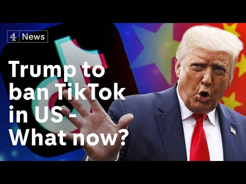 TikTok parent company to divest US operations after Trump declares ban on app