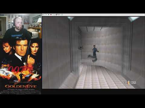 Goldeneye 007 Custom Level: Satellite Control Bunker (by Zka)