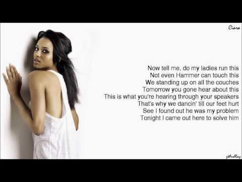 Ciara - I'm Out feat. Nicki Minaj [Lyrics]