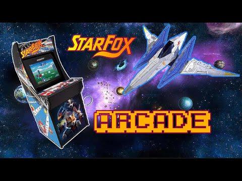 Star Fox Arcade1Up Long Play from Samurai Pi