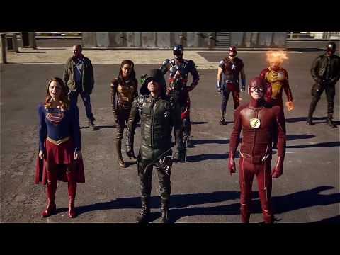 Команда Стрелы, Легенды, Флэш и Супергерл против Доминаторов в кроссовере сериалов от The CW