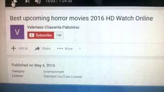 ( The Boy HORROR .. Full Movie ) Best upcoming horror movies 2016 HD Watch Online