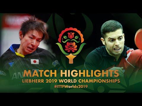 Koki Niwa vs Marcelo Aguirre | 2019 World Championships Highlights (R128)