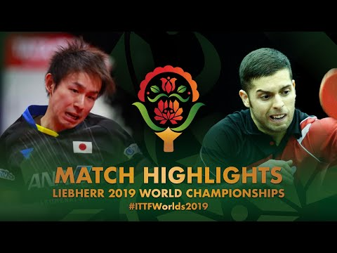 Koki Niwa vs Marcelo Aguirre | 2019 World Championships Highlights (R128)