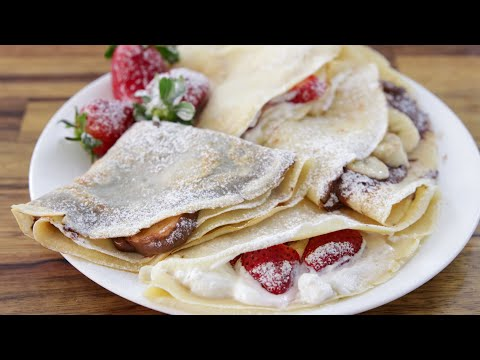 How to Make Crepes French Crepe Recipe
