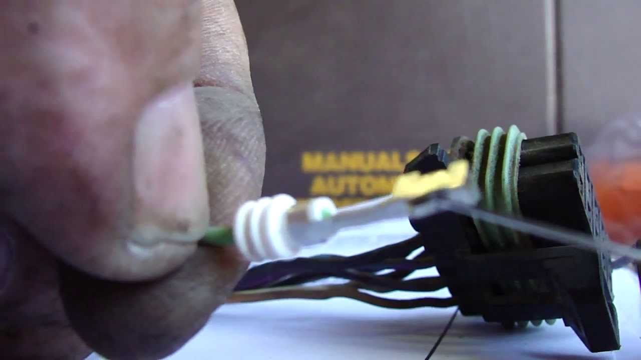 How to remove terminals from automotive electrical connectors. Part ...