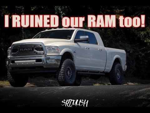 2017 Ram 2500 Leveling Kit  Taller  Wider