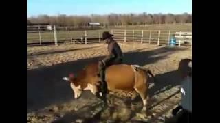 Ezekiel Mitchell bull riding