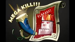 Dota 2: Pyrion Flax Announcer Pack (Mega Kills)