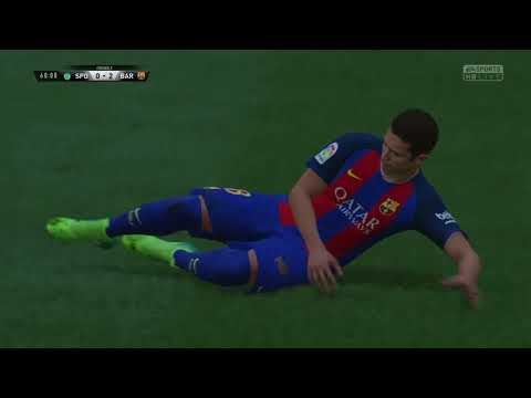 SPORTING CP vs FC BARCELONA   GOALS AND HIGHLIGHTS   UEFA CHAMPIONS LEAGUE   2017