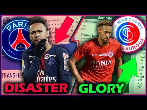 FIFA 19: PSG to DISASTER & LB CHÂTEAUROUX Sprint to GLORY !! 🔥😱