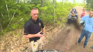Getting pulled over by DNR on ATV trails in Wisconsin