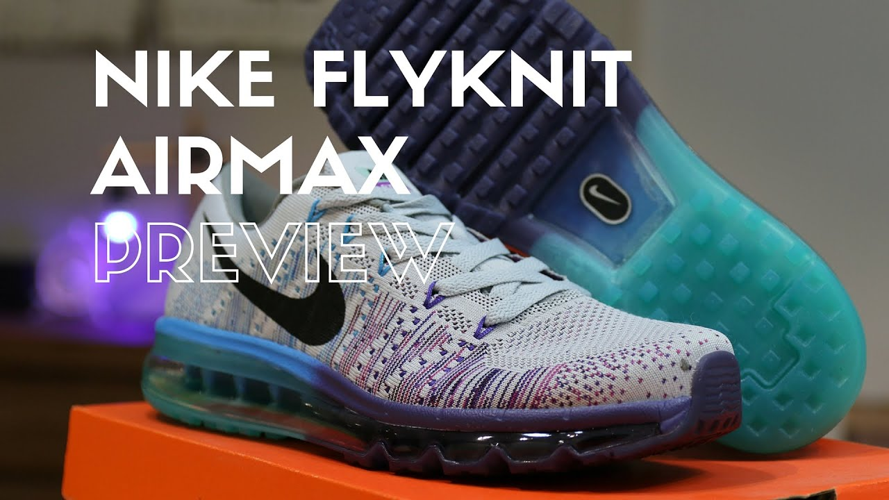 Cheap Nike Flyknit Air Max 'Multicolor' Alternative Look