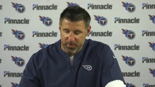 Postgame Press Conference: Head Coach Mike Vrabel