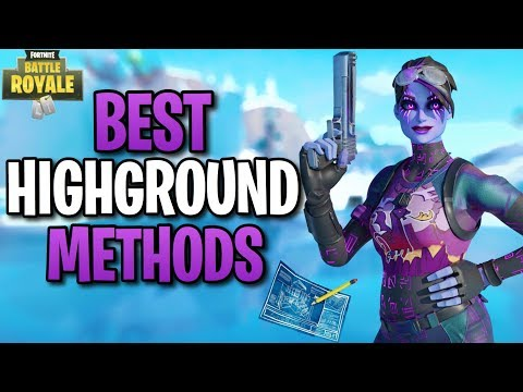 How To Retake High Ground In Fortnite - Fortnite Building Tips