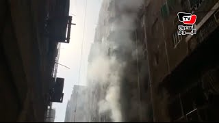الحماية المدنية تسيطر على حريق بأحد عقارات مصر الجديدة
