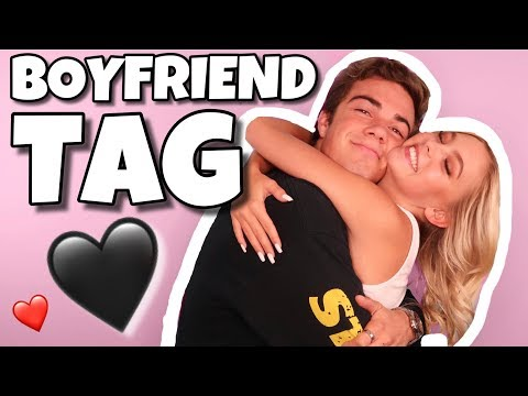 BOYFRIEND TAG! FT Jordan Beau | Jordyn Jones