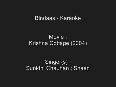 Bindaas - Karaoke - Krishna Cottage (2004) - Sunidhi Chauhan ; Shaan