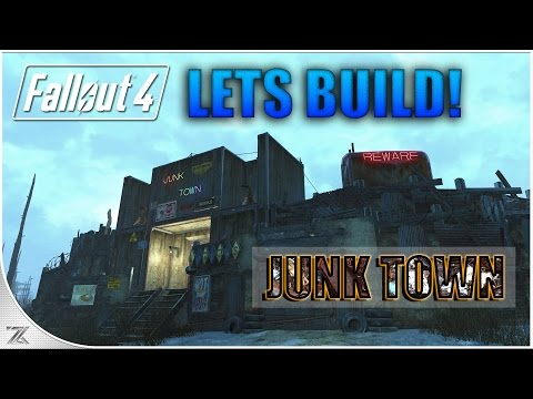 Fallout 4 Wasteland Workshop - Lets Build Murkwater Construction Site | Murkwater Junk Town