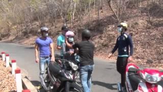 Cách phòng chống dàn cảnh cướp xe máy