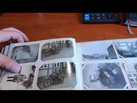 нашел на БАРАХОЛКЕ военные фотографии старый фото альбом