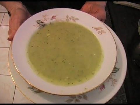 Soupe aux courgettes par Mamy Monica