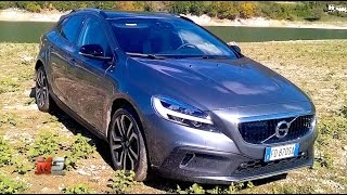 New Volvo V40 D3 Cross Country 2017 - First Test Drive - Eng Ita Sub