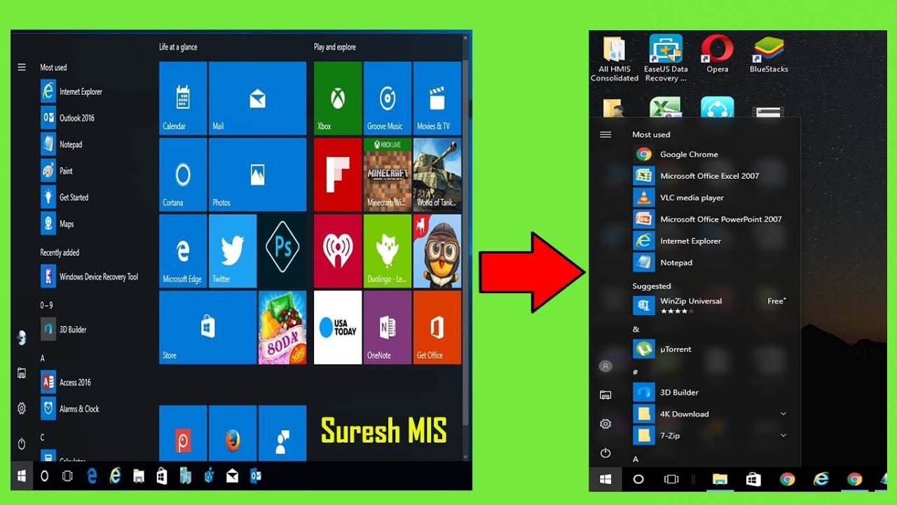 How to disable start menu in windows 10 gpo