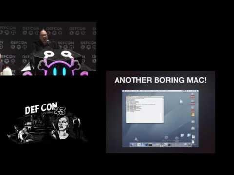 Dan Tentler - Defcon 2015 - Comedy Inception Panel