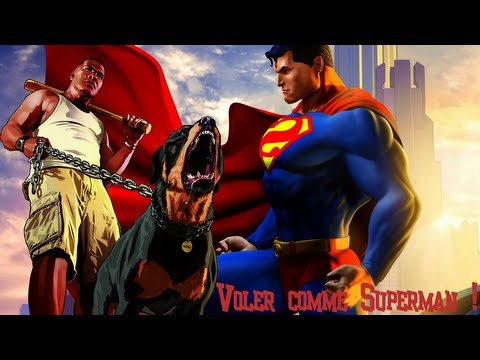 GTA V Cheat code : Fly Superman GTA V / Voler comme ...