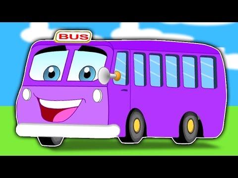 bánh xe trên xe buýt | Bộ sưu tập vần điệu trẻ | Wheels on the Bus Rhyme for Kids