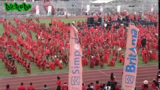 Download TARIAN KABASARAN (Cakalele) 2019 stadion maesa tondano ( HUT  minahasa ke 591)