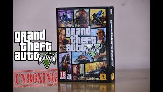 GTA V PC Unboxing and Successful Installation !! [2017]