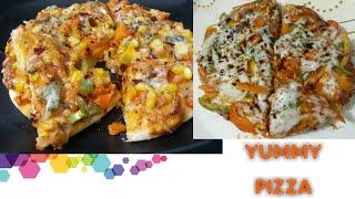 Microwave and pan pizza | बहुत ही कम समय में आसानी से घर पर बनाएं बच्चों का मनपसंद पिज़्ज़ा