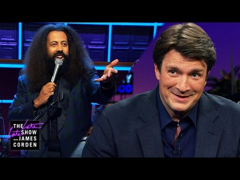 Reggie's Question: Nathan Fillion - YouTube