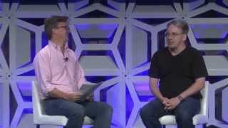 Linus Torvalds Jim Zemlin Q& A LinuxCon North America 2015