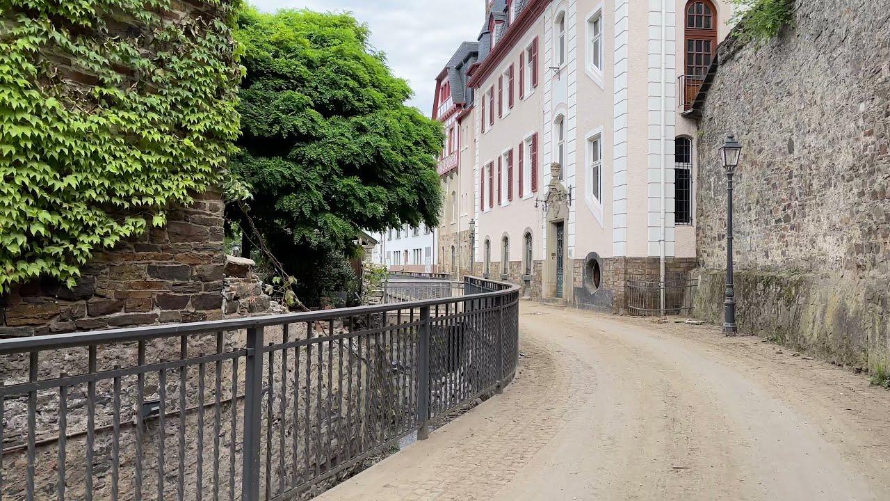 Flutkatastrophe Ahr:  Update- Altstadt Ahrweiler, 29.07.21 Teil 16