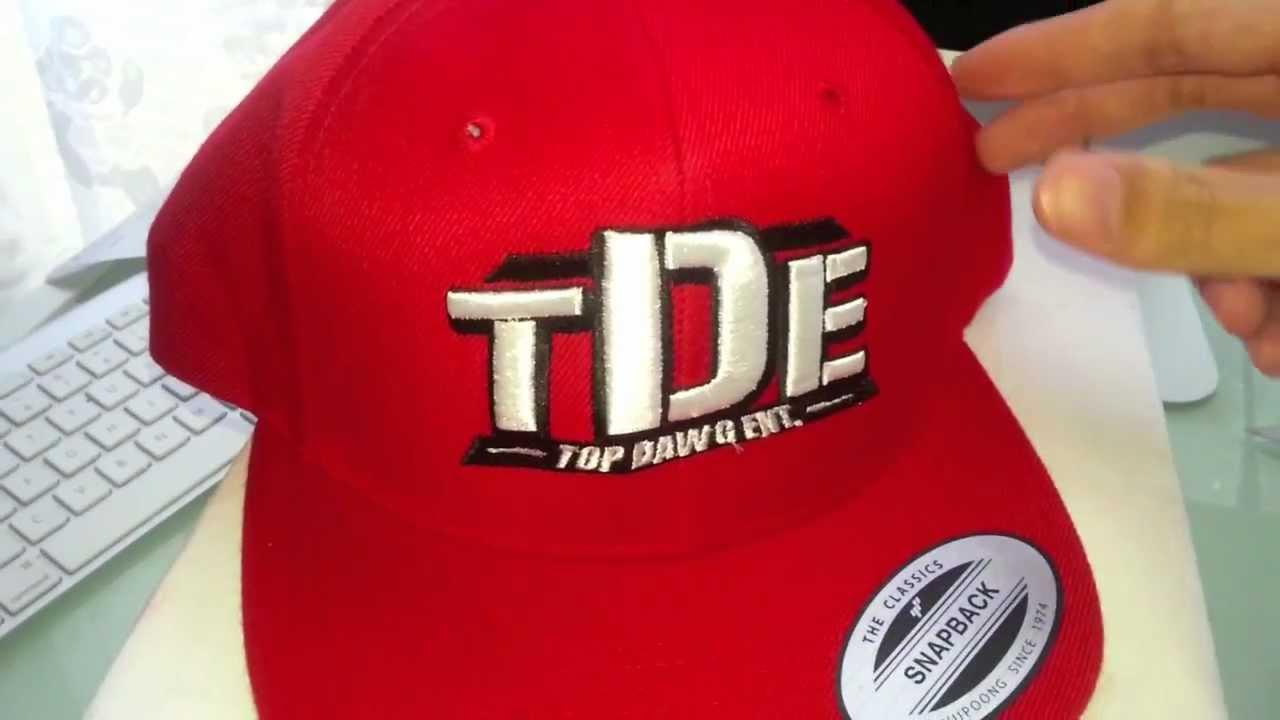 dd313e69f7e9c Cherry Red TDE Snapback