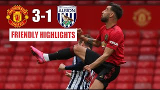 Manchester United vs West Brom Friendly Highlights | 3-1 Club Friendly At Old Trafford